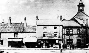 North Side of Market Place (c1900) - Sutton-in-Ashfield