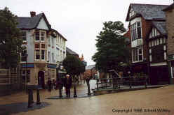Sutton-in-Ashfield, View of Low Street from Market Place, 1996